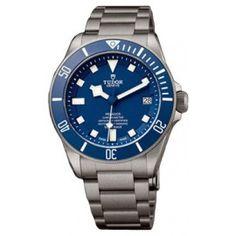 Tudor Pelagos Cadran Bleu Titane Bracelet 25600TB-95820T