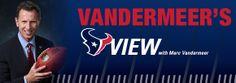 Vandermeer's View: Texans vs Patriots