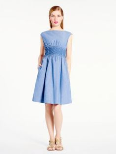 chambray blaire dress - kate spade new york