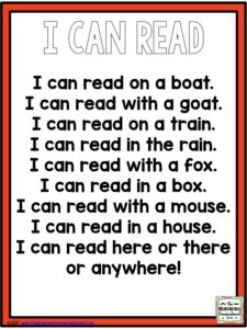Dr. Seuss poem!   This poem is great for your class to read as they celebrate Dr. Seuss and Read Across America week!  Click this pin to get your free poem!