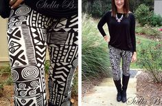 Gorgeous Bold Printed Leggings  49% off at Groopdealz