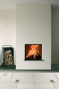 Kal-fire Wood Burning Fireplaces - Heat Pure Range