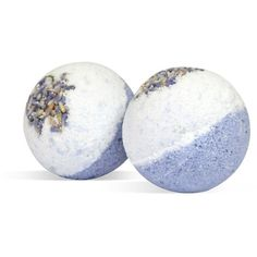 Truly Organic 2-Pack Petal Dance Organic Bath Bombs (414397801) ($23) ❤ liked on Polyvore featuring beauty products, bath & body products, body cleansers and clear