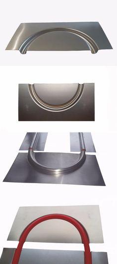 materials: (10) Aluminum 180 Degree Return Radiant Floor Heat Transfer Plates For 1/2 Pex BUY IT NOW ONLY: $119.99