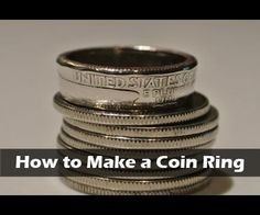 In this Instructable I will show how I was able to make a ring from a regular US quarter. I have done a previous Instructable making a silver spoon into a ring as well. This process could work with a steel washer but takes a significant amount more time as a regular quarter is made from copper and nickel. I didn't come up with the idea of making rings from coins, this is just my take on the process. Aside: It is fine to use a US quarter to make jewelry, what you cannot do is alter us…