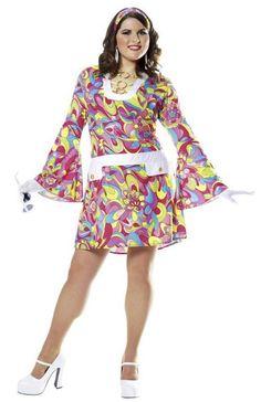 70s Groovy Chick https://www.dresscostume.com/decades/70s-costumes.html