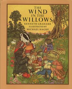 Scottish writer Kenneth Grahame was born today in He wrote the classic children's book The Wind in the Willows in He also wrote The Reluctant Dragon. I Love Books, Good Books, My Books, Vintage Book Covers, Vintage Children's Books, Bedtime Reading, Children's Literature, Classic Books, Children's Book Illustration