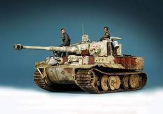 Tiger 1 by Adam Wilder