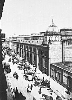 1901 Zentralmarkthallen,Neue Friedrichstrasse