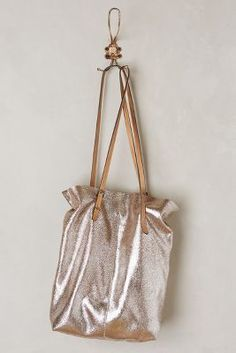 Anthropologie Meribel Metallic #Tote #anthropologie #anthrofave