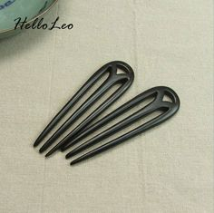 Ancient Sandalwood Chinese hair stick  'M' shape Women jewelry Headwear Head Jewerly Gift  Hair Stick Luxurious Hairpin