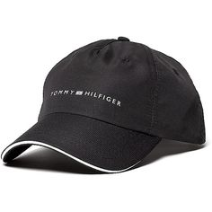 Tommy Hilfiger Athlete Logo Cap (420 MXN) ❤ liked on Polyvore featuring  accessories ba6529fe222a