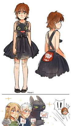 """hope-for-snow: """" haddok-frost: """" kadeart: """" Toothless dress > (x) Baymax dress > (x) """" THIS IS GOLD! """" THIS IS GREAT """""""