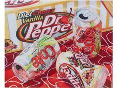 Pop Cans - Colored Pencil