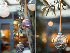 How To Make Your Own DIY Christmas Baubles... - Love My Dress Wedding Blog