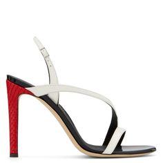 POLINA - Sandals - White | Giuseppe Zanotti - USA