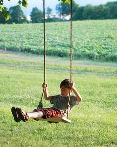 Tree Swing | Easy Backyard Projects To DIY With The Family