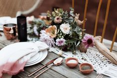 Macrame Wedding - Table Runner #bohemian #modernmacrame Quarai Ruins, New Mexico