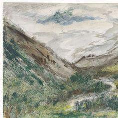 Dal met begroeide bergen, Jozef Israëls, 1834 - 1911 - Search - Rijksmuseum