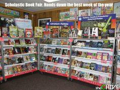 Scholastic Book Fairs <3