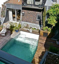 353 mejores im genes de piscina en patio peque o petite