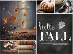 Hello Fall collage by Anita