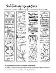 10 Printable Bible Verse Bookmarks For Kids Great For Rewards Reading Plans VBS Outreach And