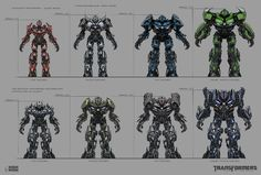 Character and Prop concepts for Transformers: Dark of the Moon video game. Role - Concept art Lead / Assistant Art Director