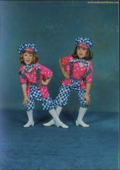 The checkerboard sisters
