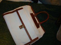nwot authentic DOUGLAS HANNANT sprint/summer 2013  HANDLE wkndr bag TOTE purse #DouglasHannant #WeekendBagComputerBag
