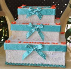 torta portasoldi in cartone