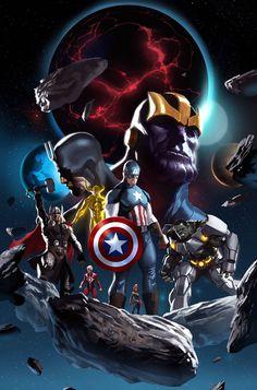 Ojala todos ellos salieran en la pelicula de Infinity War