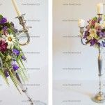 Decorations with candelabra