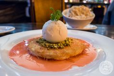 Kunafeh at Bustan on the Upper West Side, NYC