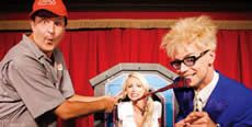"""Murray Celebrity Magician at The Sin City Theater in Planet Hollywood's Miracle Mile Shops features the breakout star from """"America's Got Talent"""" in a showcase of hilarious comedy and amazing illusions."""