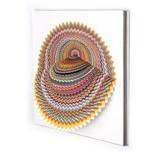 Hypnotic 3D Paper Cut Jen Stark