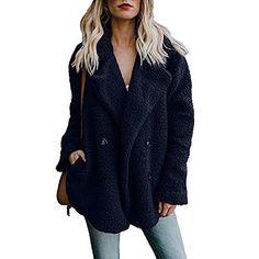 3ce5a0493a6 Buy Women s Woolen Coat Plus Size Jiayit Women Casual Jacket Winter Warm  Parka Outwear Ladies Coat Overcoat Outercoat online. Oversized JacketFaux  Fur ...