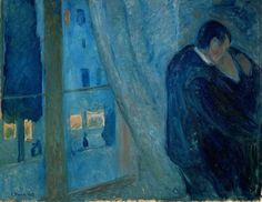 "Edvard Munch ""The kiss"" 1897 Oil on canvas, the Munch Museum"