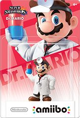 Dr. Mario Amiibo Super Smash Bros