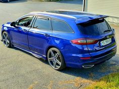 Ford Mondeo Custom Cars, Super Cars, Automobile, Vehicles, Blue, Ford Mondeo, Car, Car Tuning, Pimped Out Cars