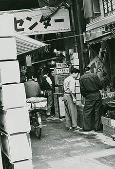 ラジオセンター入口(1956)