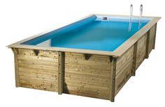 Genial Holzpool PALM SPRINGS #Pool #Garten #Holzpool #äußere #IdeePool