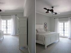 DIY Ducklings   Master Bedroom - Benjamin Moore Gray Owl