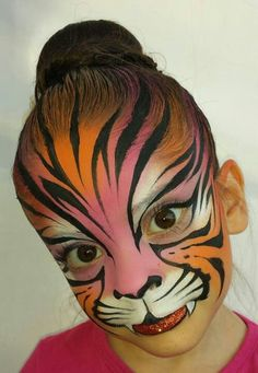 Mark Reid tiger design... I love how he extended it into the hair!