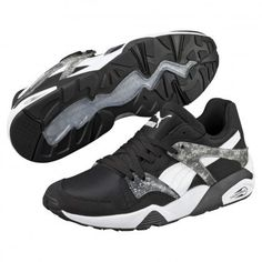 BTS x Puma Blaze Shoes MRBL LTHR Black 36067401 Bts Puma Shoes a459f88b2