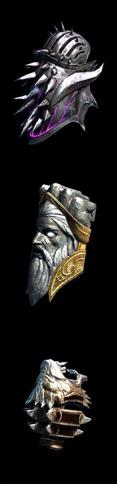 God of War - Weapon - Gauntlet of Hades, Gauntlets of Zeus, Nemean Cestus_by God of War_from PlayStation Forums_點開有該裝備實際使用於遊戲中之截圖