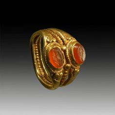 #ROMAN #GOLD #RING