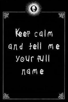 Do tell.