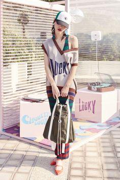 Vogue.com | Spring 2017 Lucky Chouette I Love Fashion, Fashion 2017, Couture Fashion, Runway Fashion, High Fashion, Fashion Show, Fashion Dresses, Fashion Looks, Fashion Design