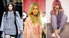 14 Of The Best A-List Hair Transformations - Gigi Hadid Had a Short Pixie Crop in 2015, Went Brunette To Walk The Balmain Catwalk At Paris Fashion Week Last Year, and More Recently She Lived Out All Of Our Hair Dreams When She Went Pink